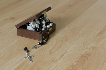 Rosary in the box photo