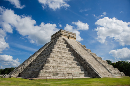Chichen itza castle Banque d'images - 80248424
