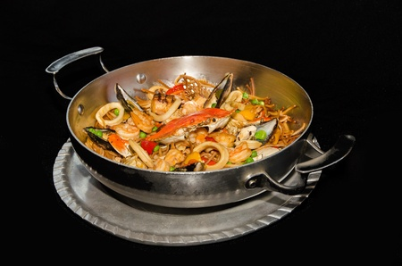 Mediterranean seafood 版權商用圖片