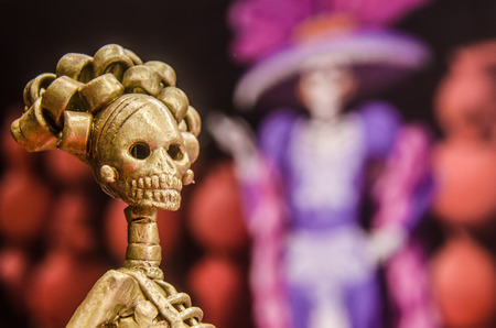 Mexican handcraft for the celebration of the Day of the Dead