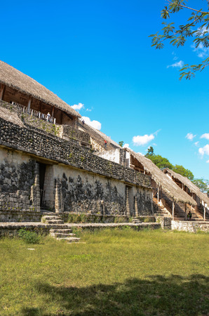 Ek Balam ancient mayan zone, located at Yucatan, Mexico