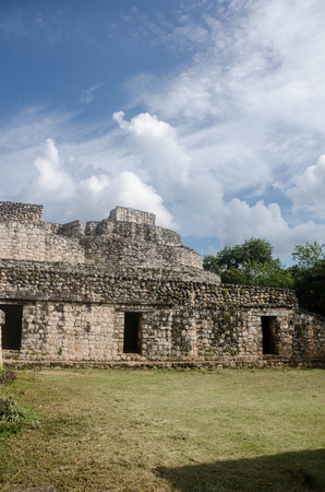 Ek Balam ancient mayan zone, located at Yucatan, Mexico