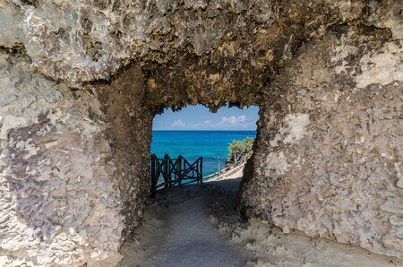 cave at Punta Sur, Isla Mujeres, Mexico