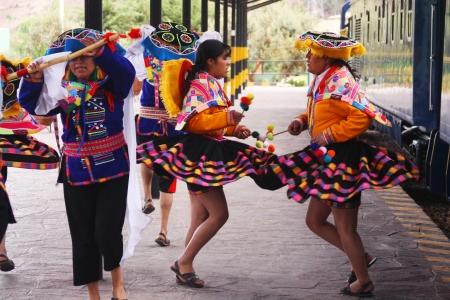 インカの伝統舞踊