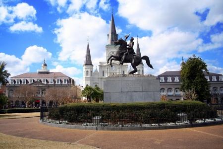 square: Jackson square in New Orleans, Louisiana