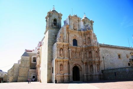 Church in the city of Oaxaca, Mexico