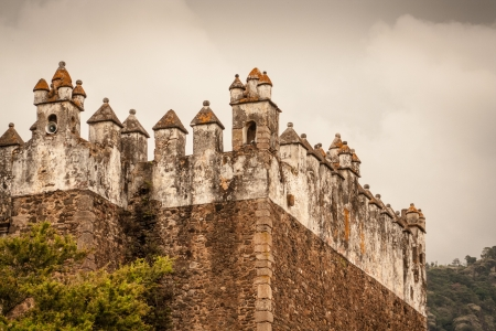 17th: Picture of Tepoztlan Castle in Mexico