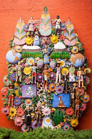 エル木デ ラ ビーダ、生命の木の装飾 写真素材