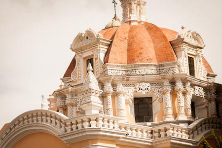 Church at puebla, mexico Banque d'images