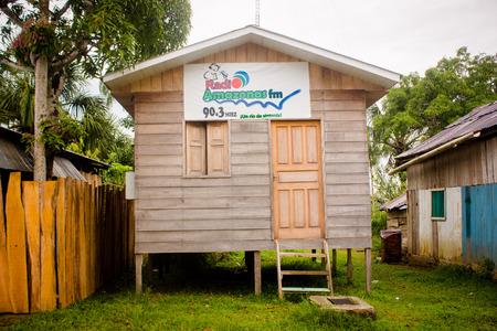 basic radio station at amazon jungle