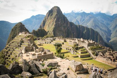 machu picchu: Machu Picchu, a Peruvian Historical Sanctuary