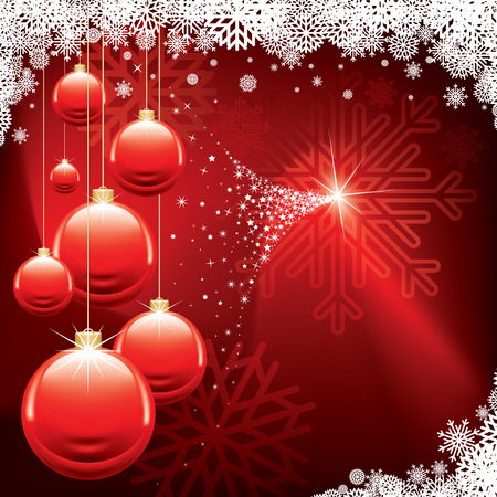 Christmas background Stock Vector - 8214875