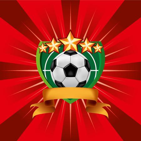 Soccer Football Emblem Vector