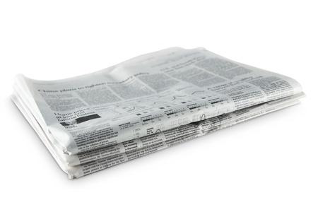 broadsheet newspaper: newspapers Stock Photo