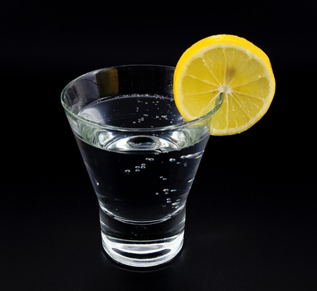 gin: gin and tonic Stock Photo