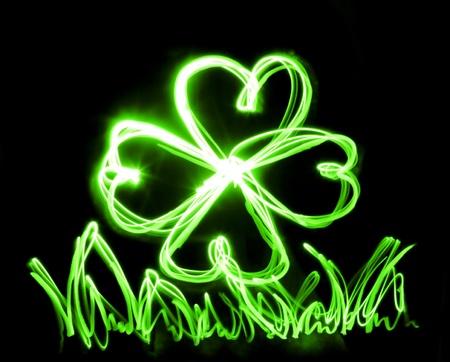 neon lucky Stock Photo - 8596994