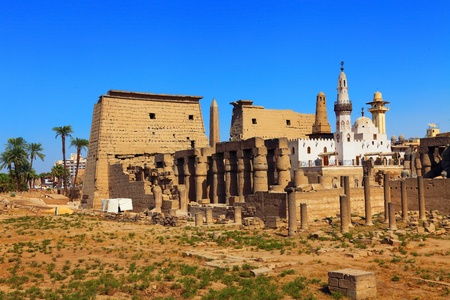 luxor temple and mosque photo