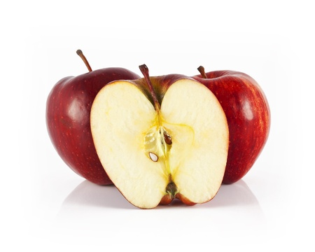 two and a half: two apple and half apple