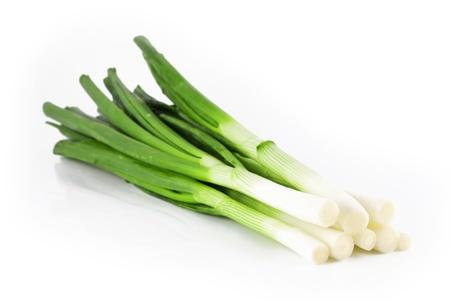 cebolla blanca: cebollas de primavera