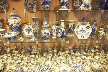 delftware: Delft pottery shops full of works of art from the famous Dutch ceramics.