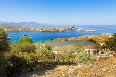 lindos: output from the Gulf of Lindos