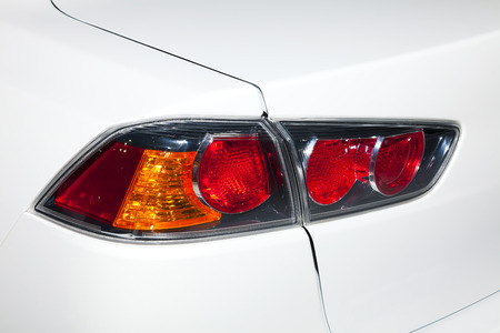 taillight: Closeup of a taillight