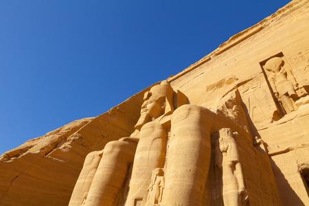 abu simbel: Abu Simbel Egypt Stock Photo