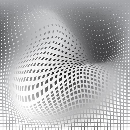 amorphous: amorphous field of squares Illustration