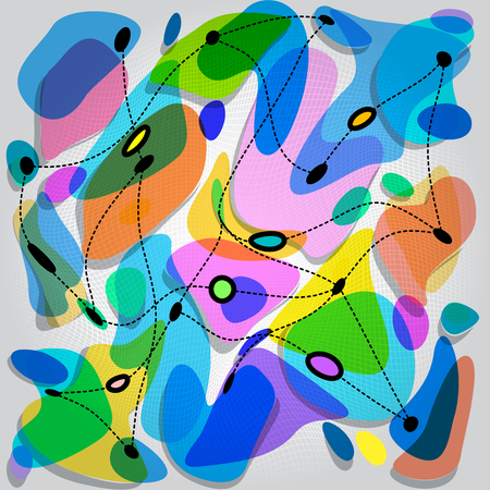 amorphous: Amorphous forms sorted by relief field.