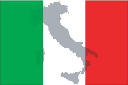 Italy - vector illustration