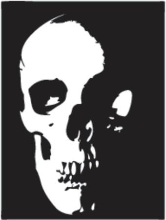 Skull - vector illustration Illustration