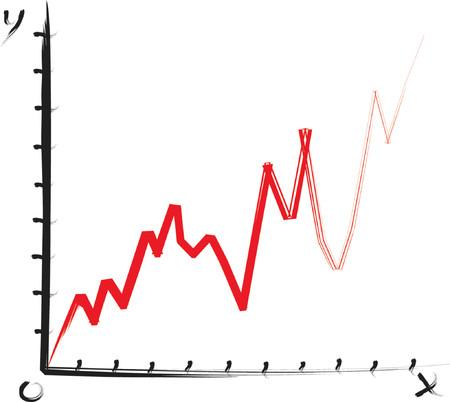 Graph - vector illustration