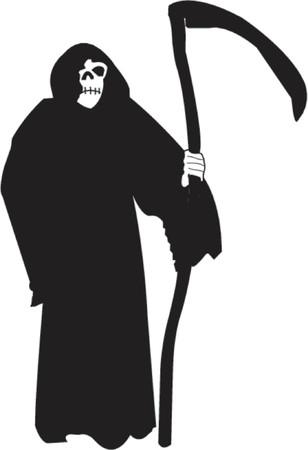 reaper: Grim Reaper - Vektor-Illustration