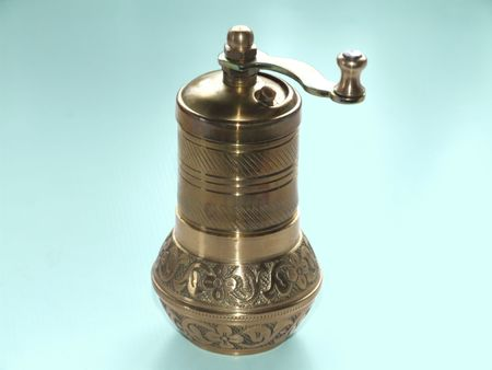 pepper grinder: Turkish pepper grinder with clipping path