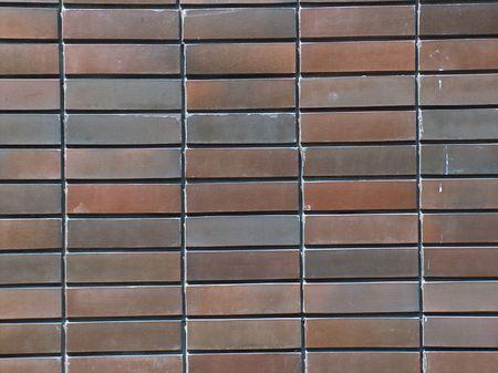 cladding tile: Brown brick wall