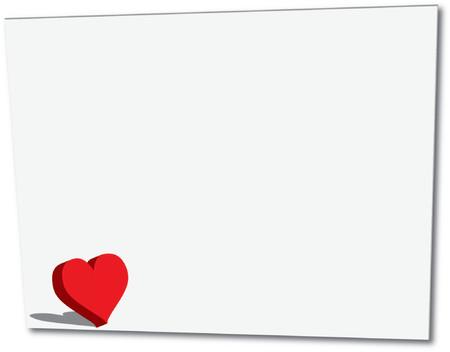 corny: Love letter - vector illustration Illustration