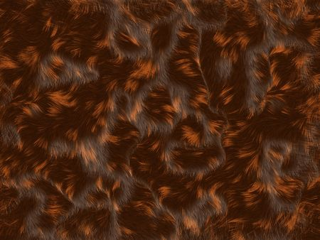 Calico fur texture background - digital illustration