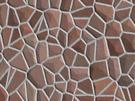 Brown stone background - digital texture