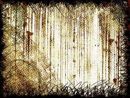 Dirty grunge wall - digital illustration
