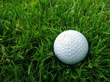 A golf ball off the fairway Stock Photo - 1686295