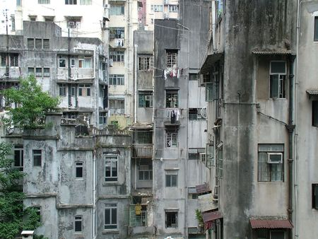 unkept: Run Down Living Quarters in Hong Kong