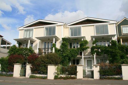 Two spacious beachside holiday apartments Stock Photo - 2568087