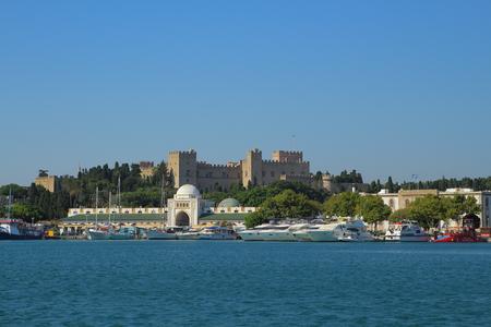 Rhodes city in Greece