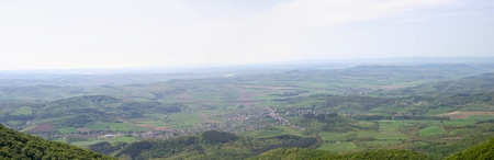 View of Karanclapujto from Karanc, Hungary
