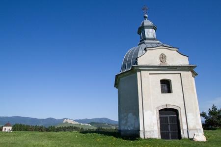 Chapel by Spis castle, Slovakia