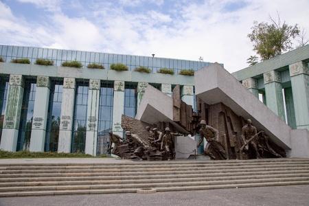 Warsaw Uprising Monument Sajtókép