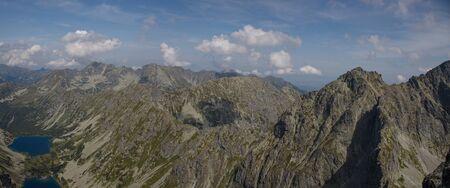 View from Koprovsky peak in High Tatras National park, Slovakia
