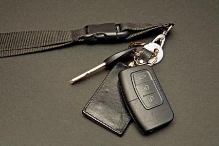 car keys set with remote control photo