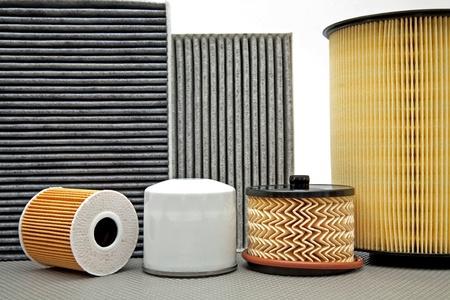 various car filters Stock fotó