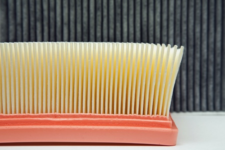 air filter and the cabin filter photo